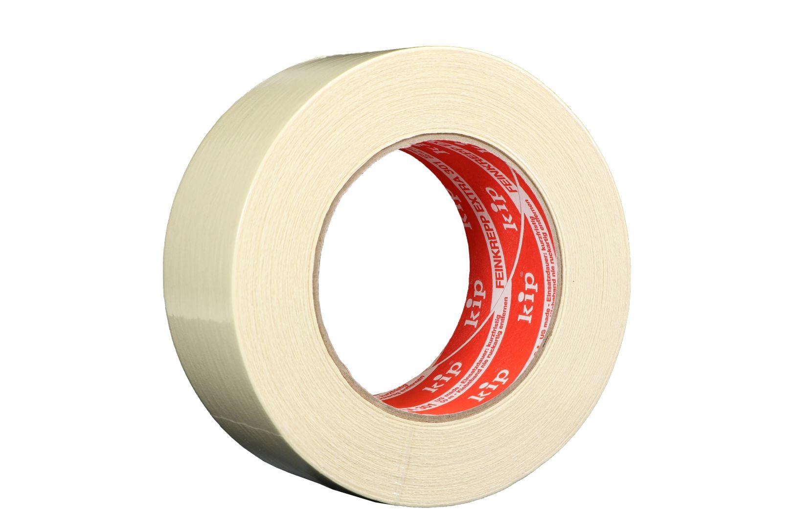 KIP 301-48 Feinkrepp extra, Kreppband, beige, 48 mm x 50m