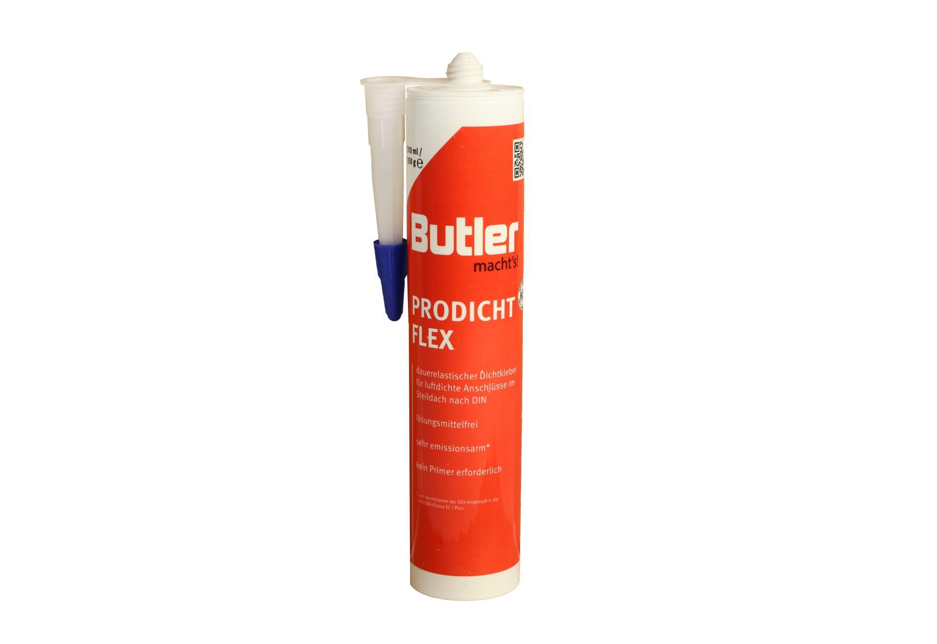 Butler macht's! ProDicht Flex, Foliendichtkleber, Dampfbremsenkleber, 310 ml