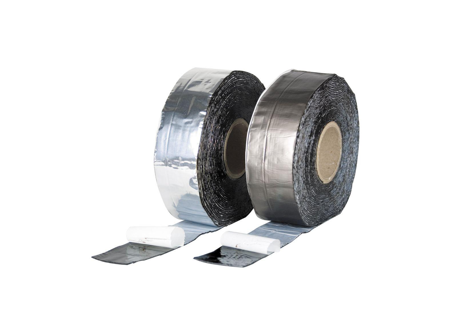 beko Bitumen-Universaldichtband, BT-Band, 75 mm x 10 m, alu blank
