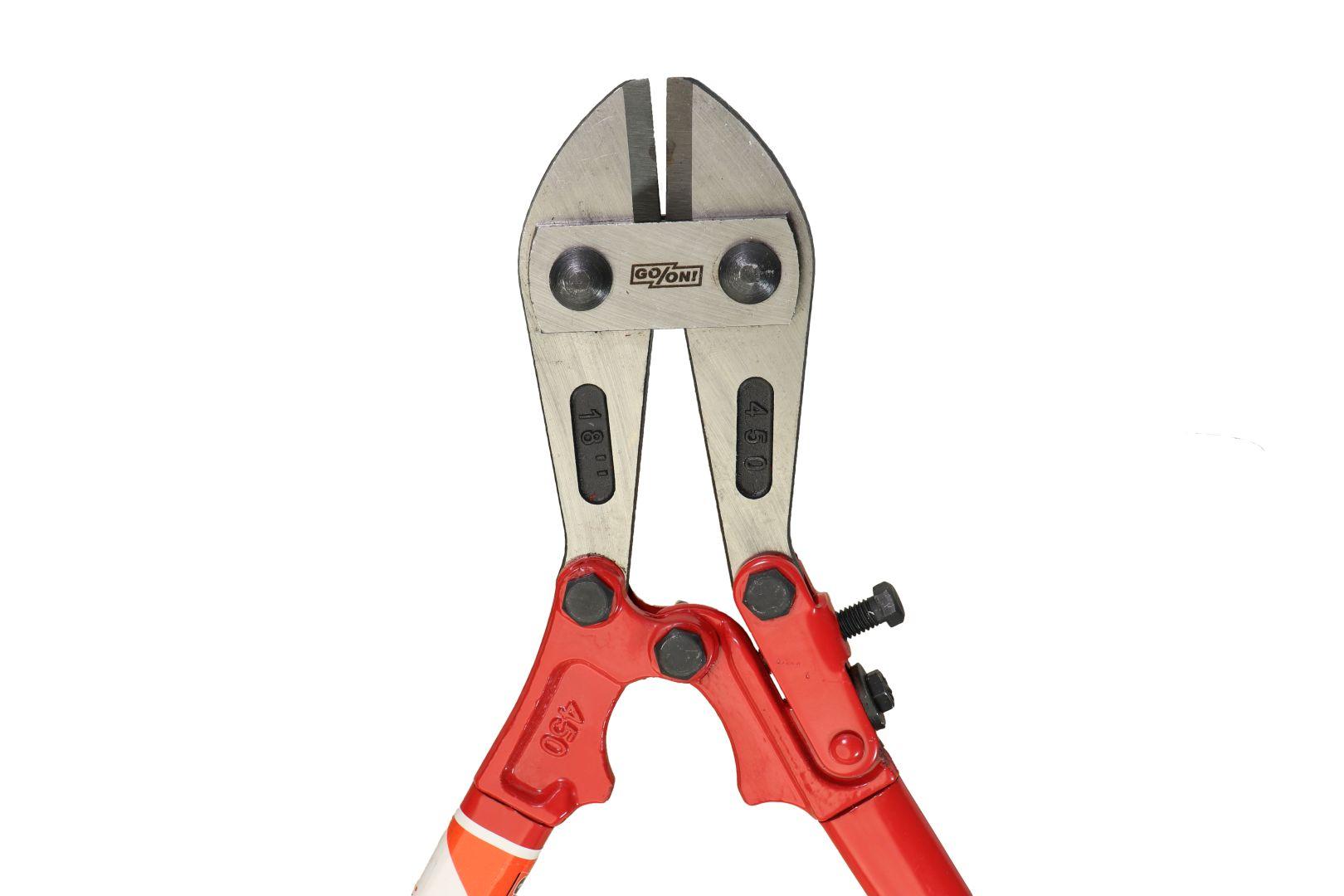 GO/ON Bolzenschneider, mit leistungsstarken und robusten Klauen, 460 mm