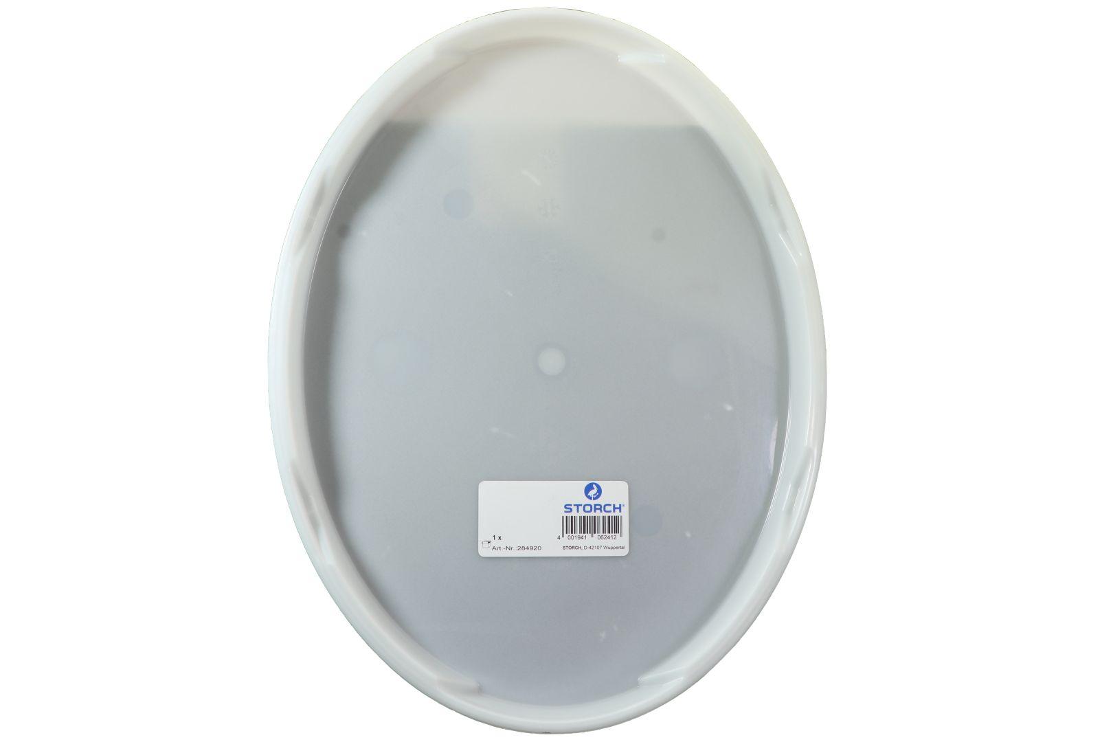 STORCH Deckel zu Farbeimer oval, 19 Liter, Kunststoff, weiß