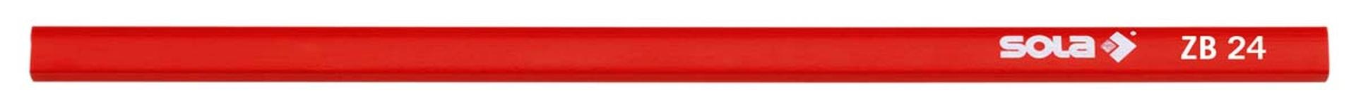 SOLA Zimmermannsbleistift ZB 30, mit Graphitmine für Holzoberflächen