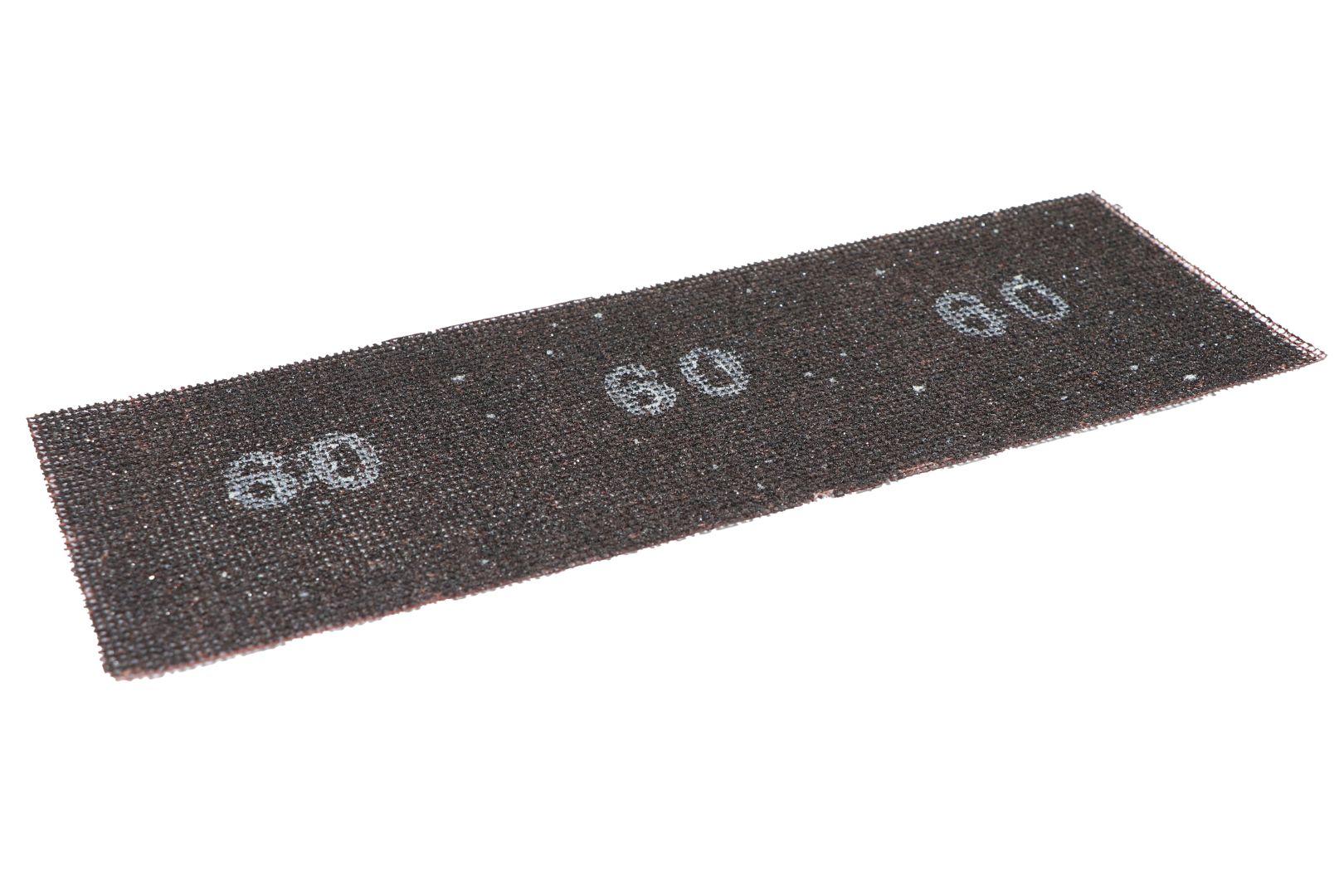 TRIUSO Schleifgitter für Gipskartonplatten, 95 x 280 mm, 10 Stück, K60