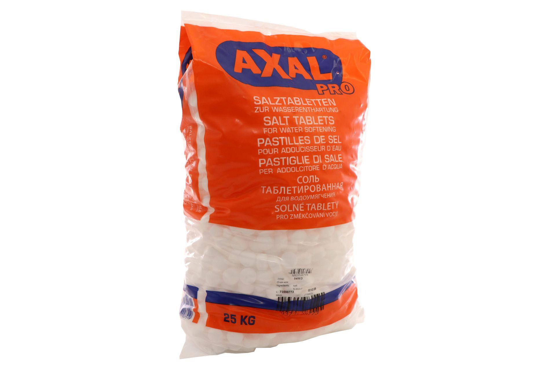 AXAL PRO Regeneriersalz, Salztabletten zur Wasseraufbereitung, 25 kg