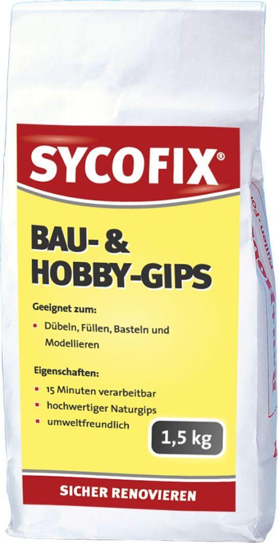 SYCOFIX Bau- und Hobby-Gips 1,5 kg