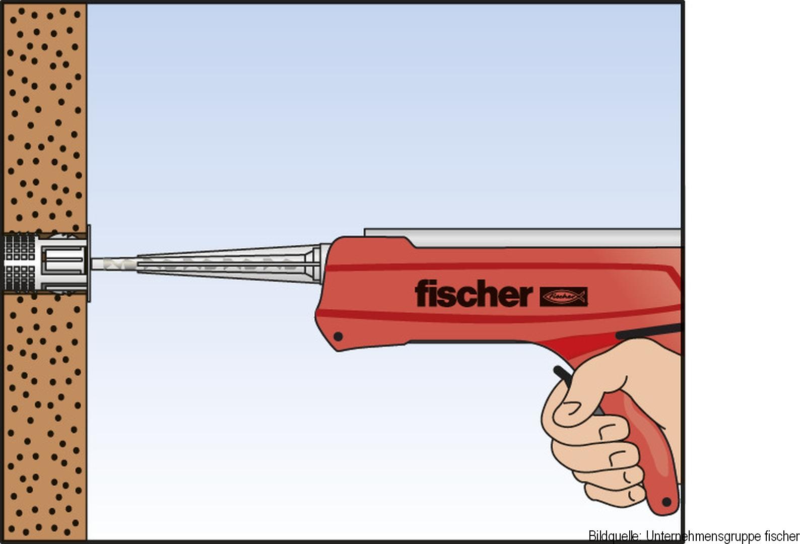 fischer Injektions-Ankerhülse Kunststoff FIS H 20 x 85 K, 20 Stück