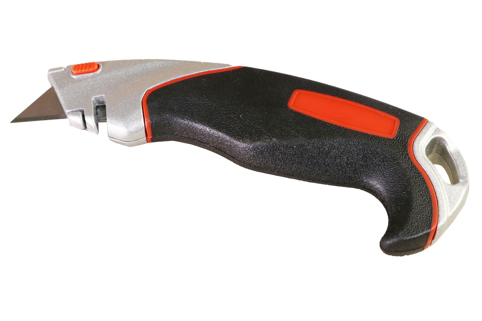 GO/ON Trapezmesser, integrierter Schnurtrenner, inkl. 3 Klingen