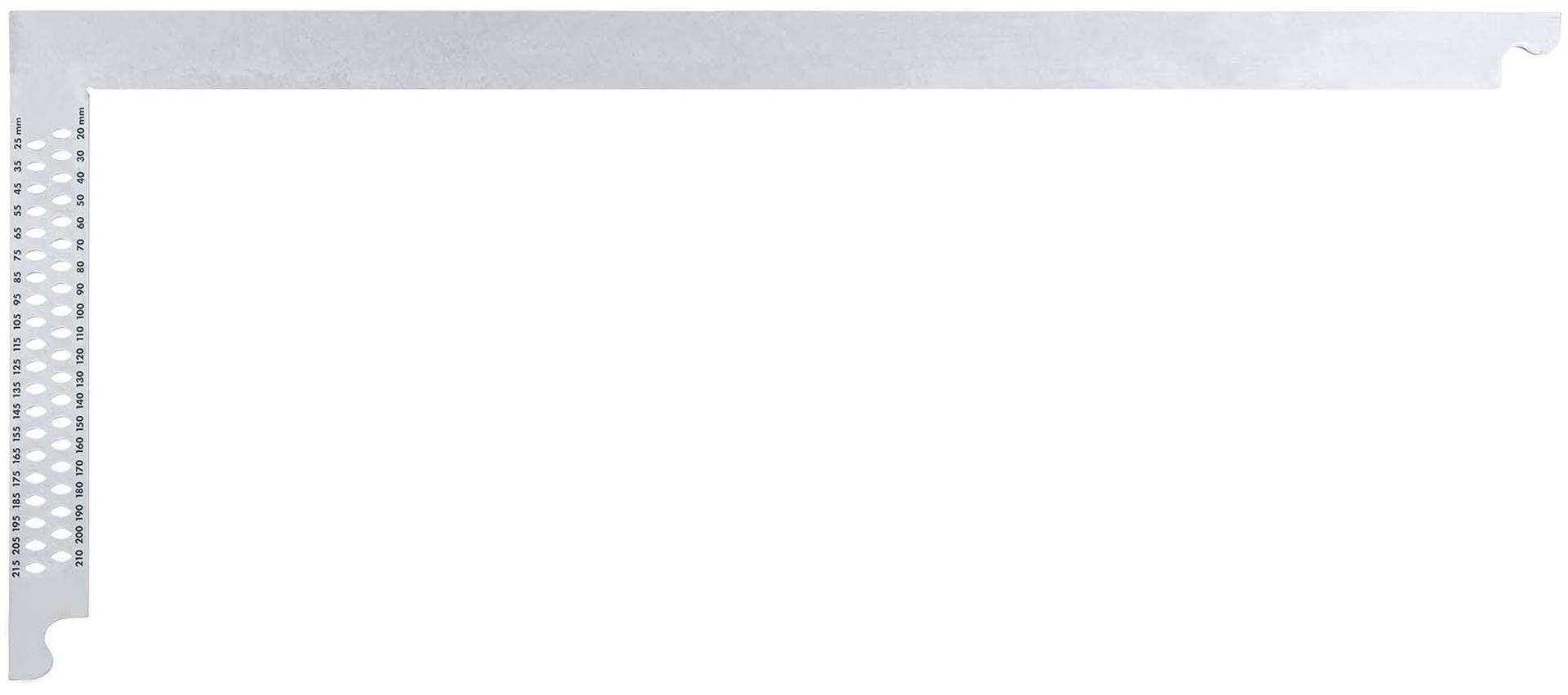 SOLA Zimmermannswinkel ZWZA 700 Stahl verzinkt, 700 mm, mit Anreisslöchern