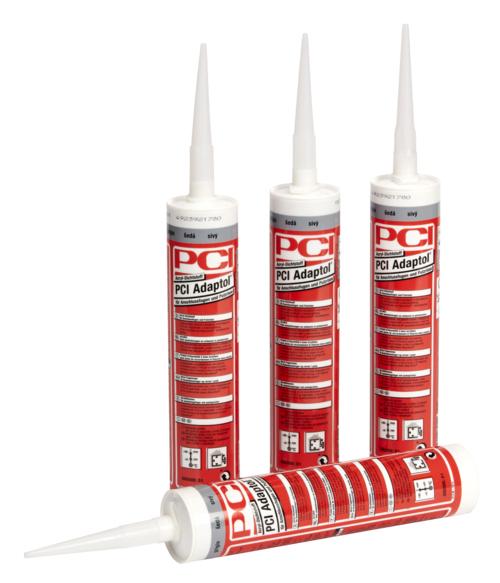 PCI Adaptol, Acryl-Dichtstoff für Anschlussfugen und Putzrisse, grau, 310 ml