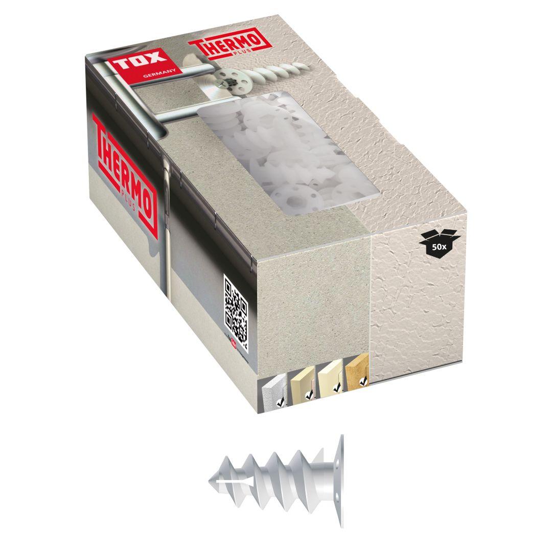 TOX Dämmstoffdübel Thermo Plus, 85 mm, 50-er Pack