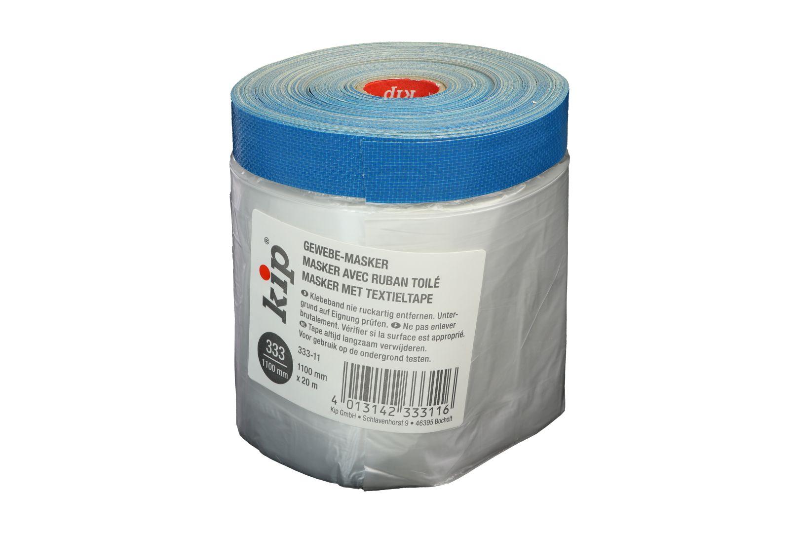 KIP 333-11 Gewebemasker, Premium Gewebeband, blau, 1.100 mm x 20 m