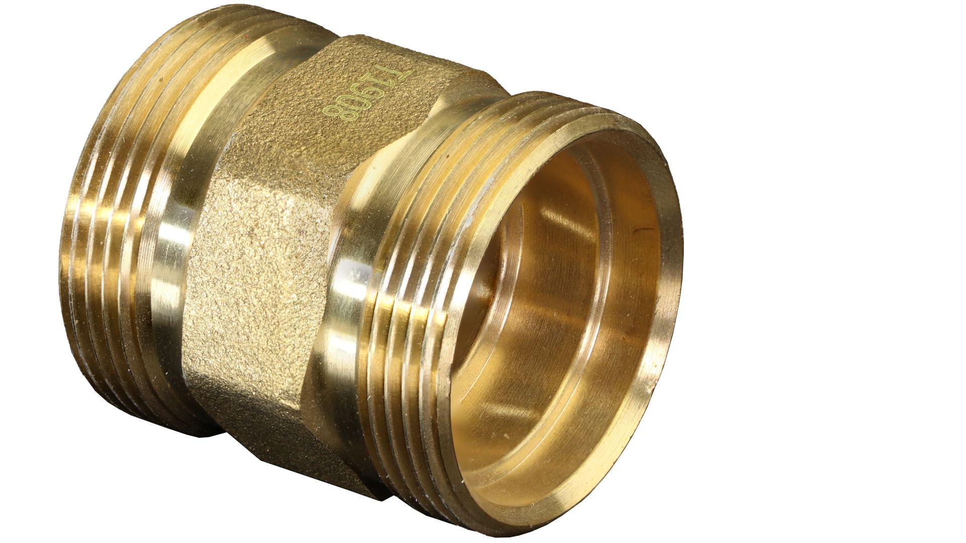 Marley DreMa (TW) Kupplung (Nr. 30), 2 x Anschluss Adapter 1 Zoll Außengewinde, flachdichtend