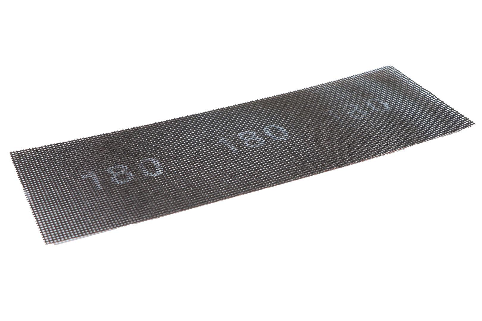TRIUSO Schleifgitter für Gipskartonplatten, 95 x 280 mm, 10 Stück im Pack, K180