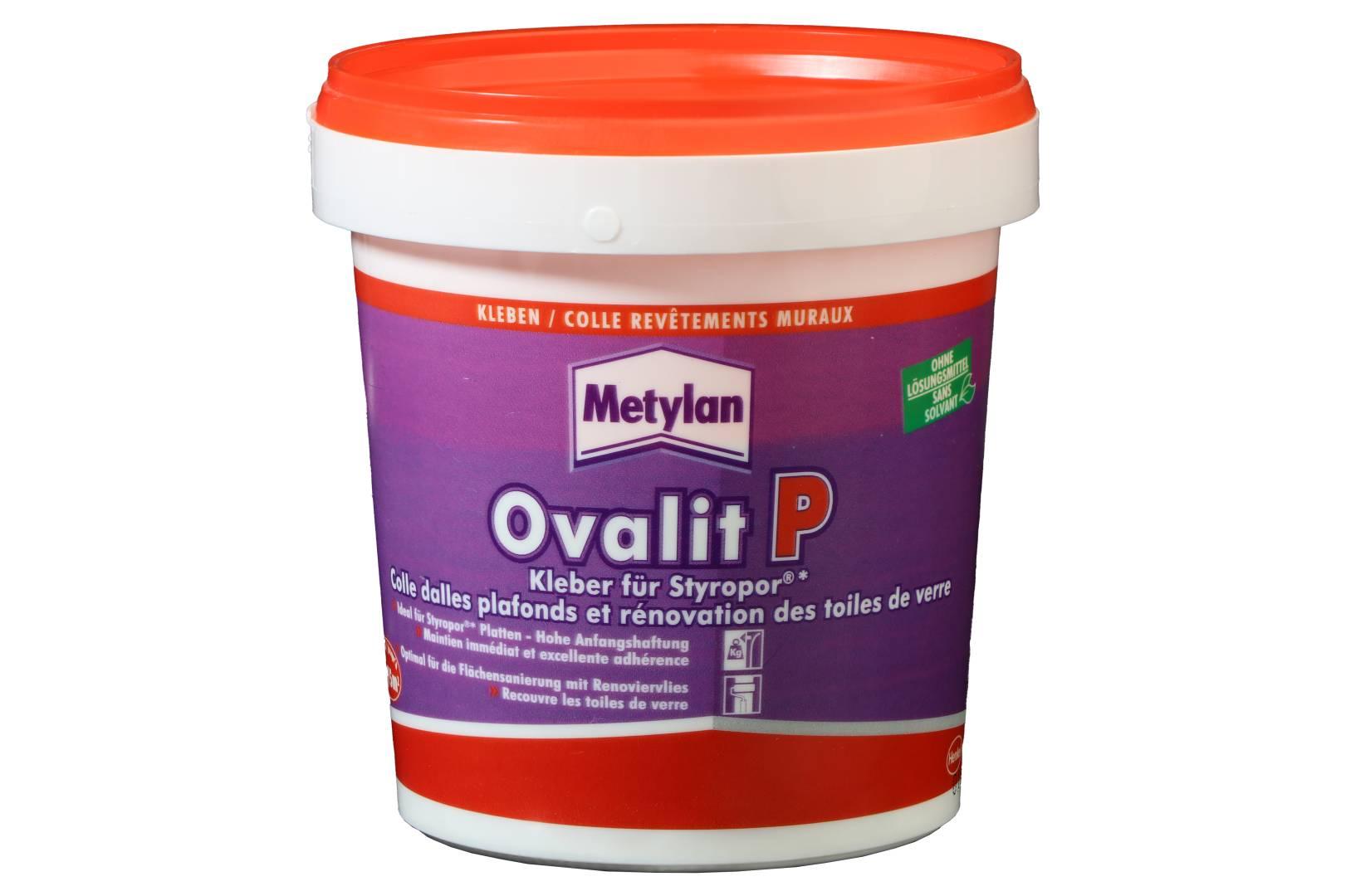 Metylan Ovalit P, Styroporkleber, 925 g
