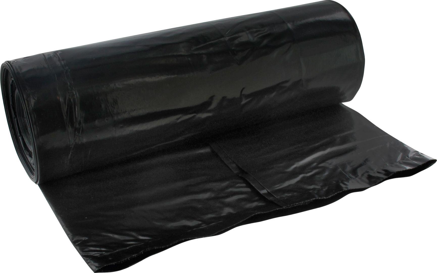 TRIUSO Schwerlast-Abfallsäcke, schwarz, 240 l, 10 Stück pro Rolle