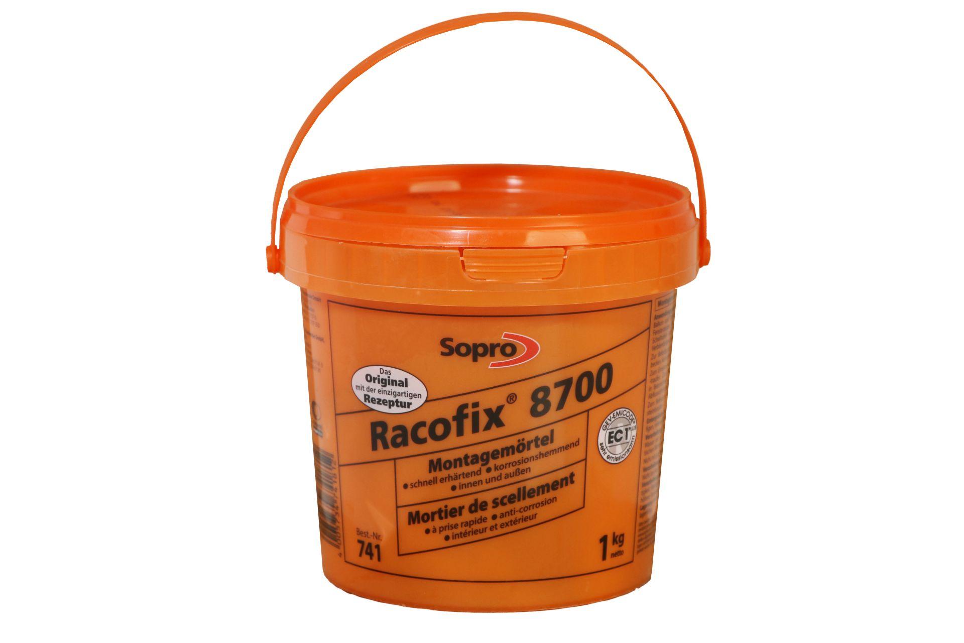 Sopro Racofix 8700, Schnellmontagemörtel 741, 1 kg