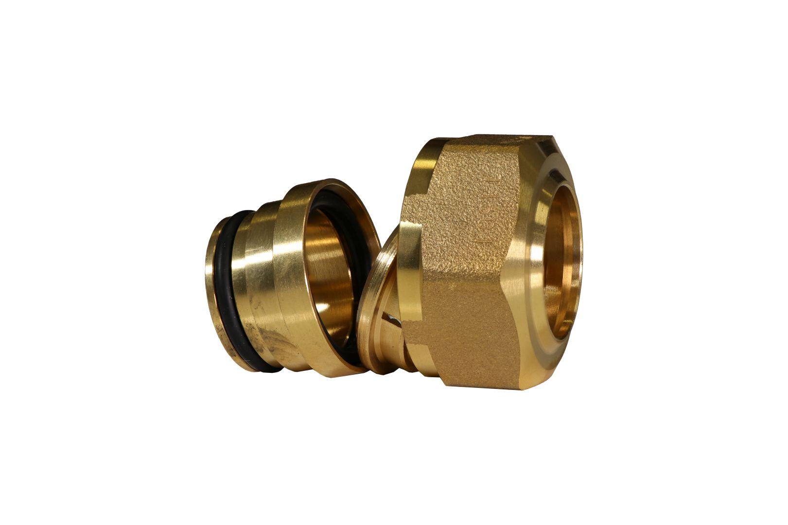 Marley DreMa (TW) Adapter für 22 mm Kupferrohr (Nr. 49), 1 Zoll Innengewinde, flachdichtend