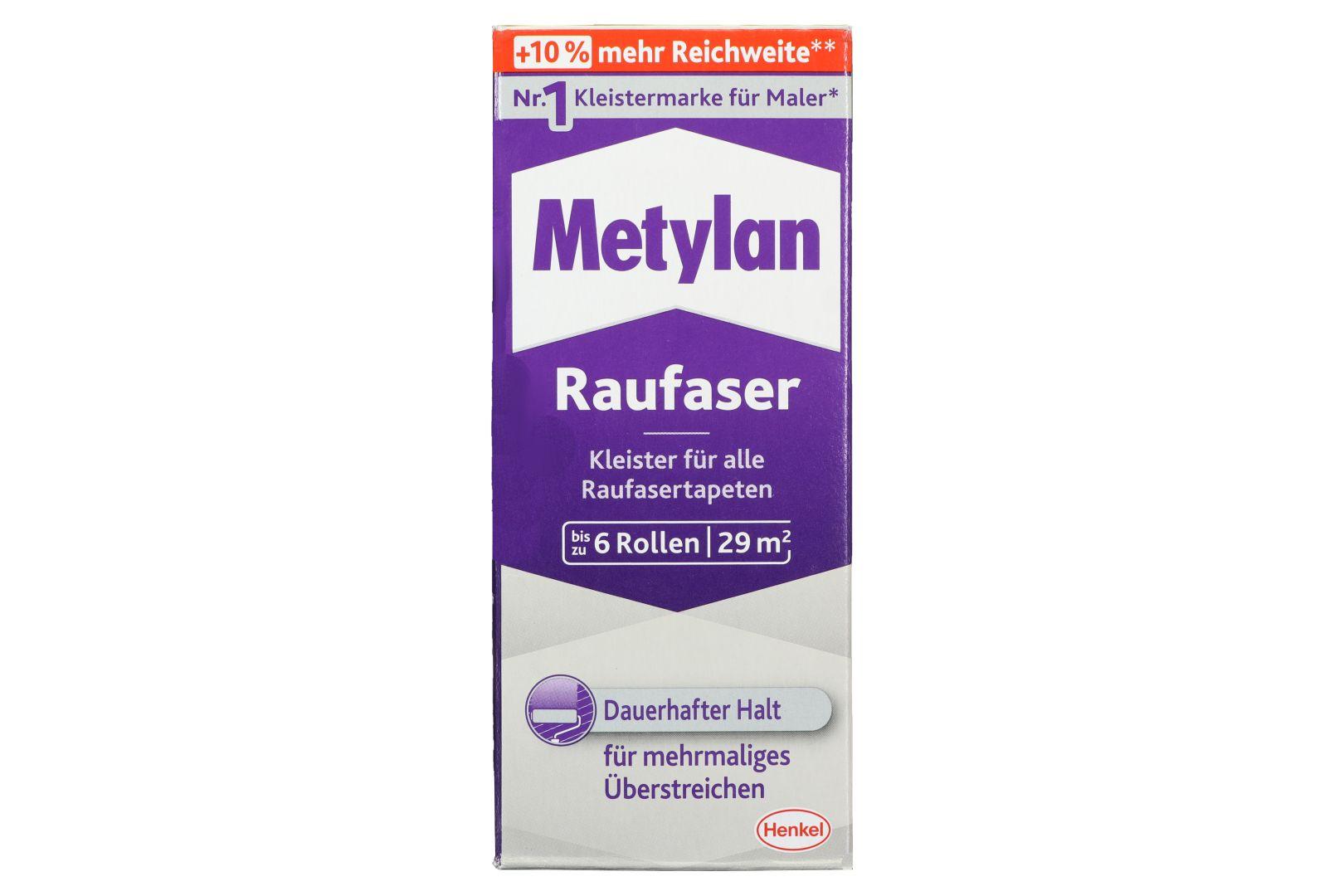 Metylan Raufaser, Kleister für Raufaser- und Raufaservliestapeten, 180 g