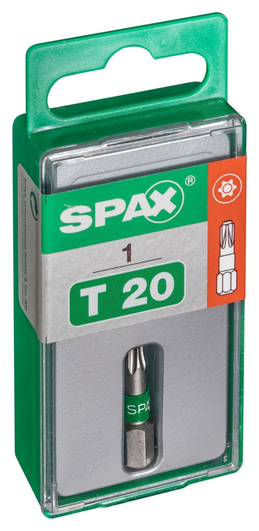 SPAX Bit T-STAR plus T20, 6,4 x 25 mm