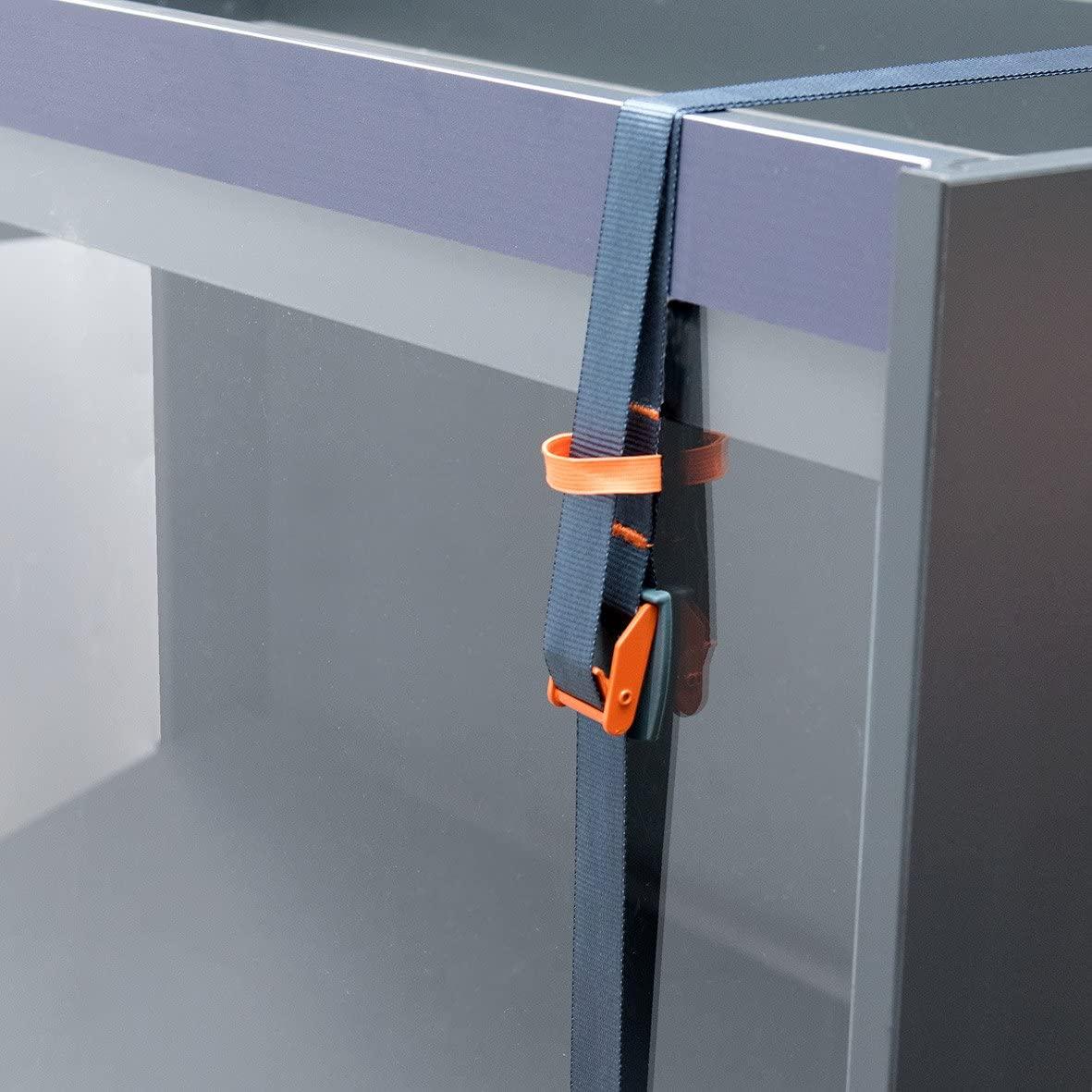 CONNEX Mini-Zurrgurt, 3 m x 25 mm, bis 200 kg, orange
