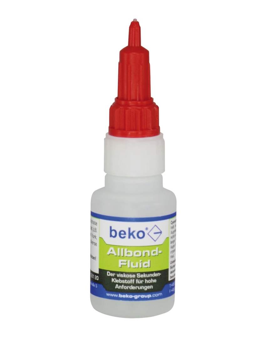 beko Allbond Fluid Sekundenkleber, 20 g, transparent