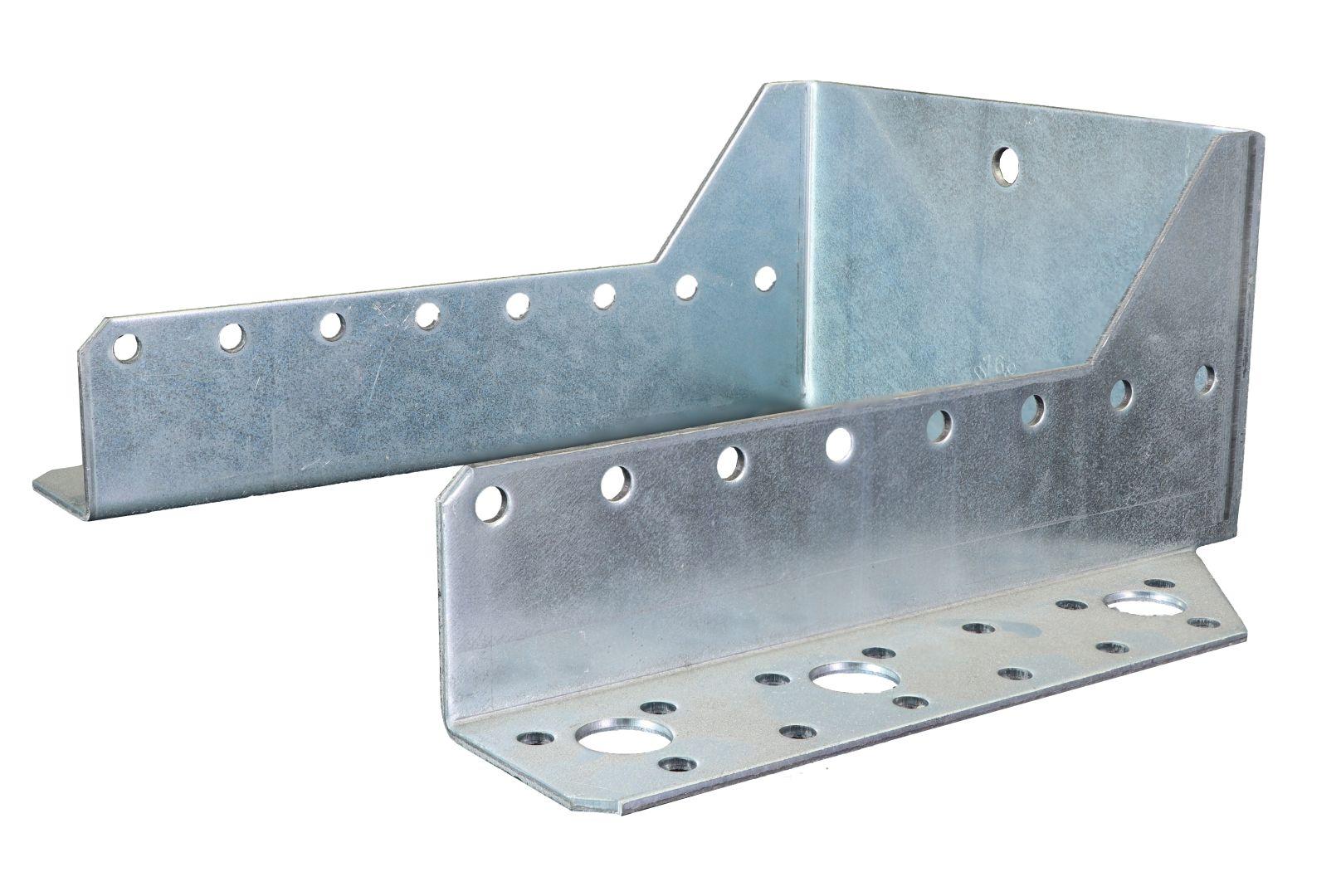 GAH Balkenschuh, außen, sendzimirverzinkt, Typ A, 120 x 160 mm
