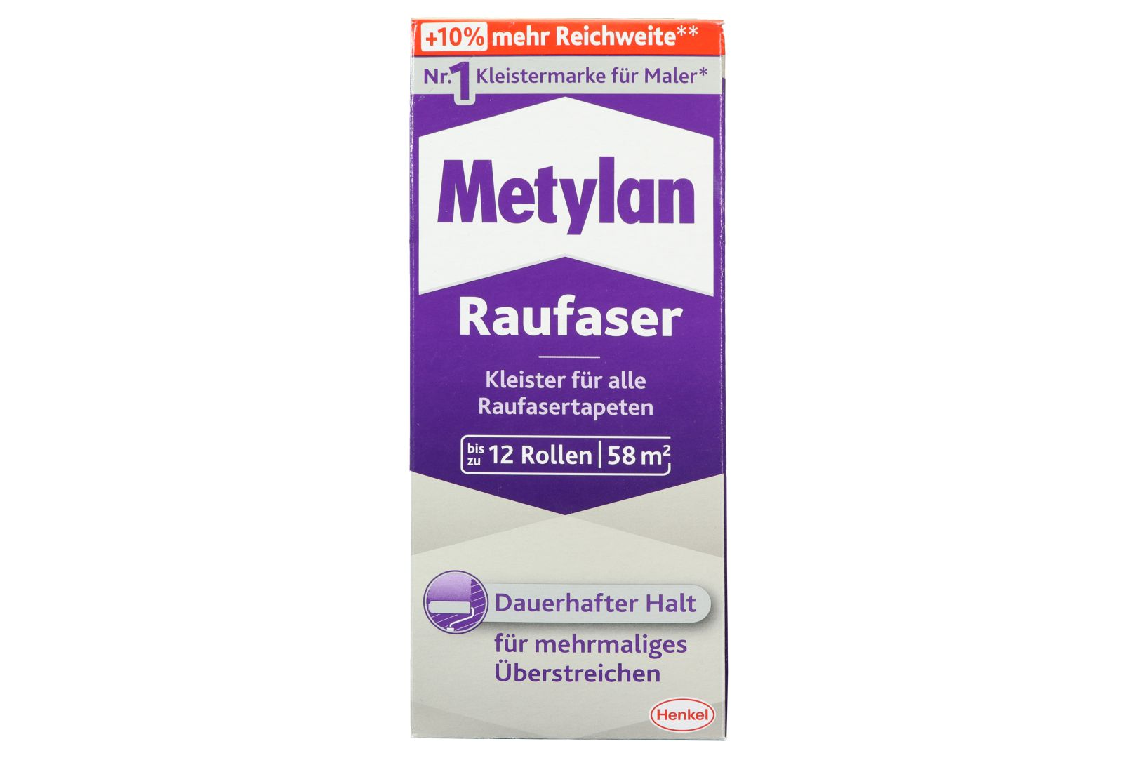 Metylan Raufaser, Kleister für Raufaser- und Raufaservliestapeten, 360 g