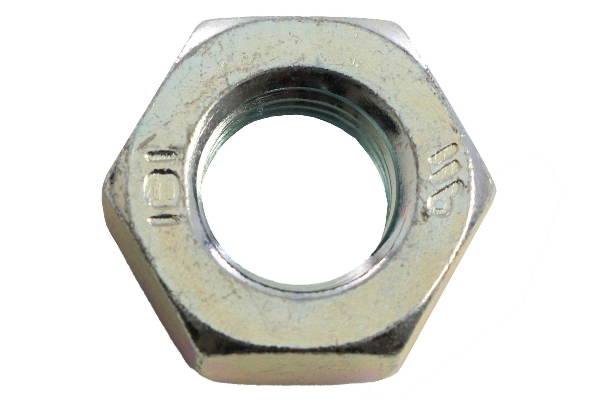 REYHER Sechskantmuttern galvanisch verzinkt, DIN 934 8, M10, 100 Stück