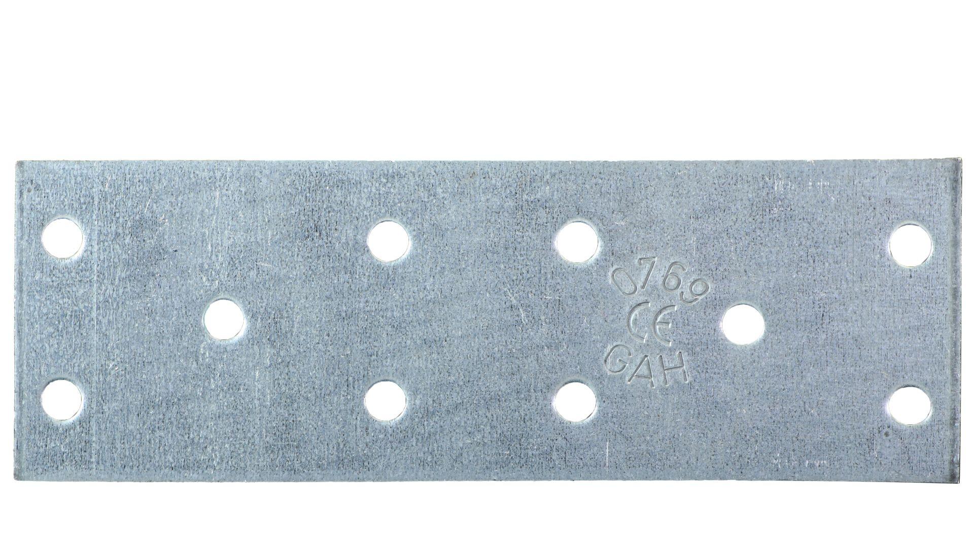 GAH Lochplatte, sendzimirverzinkt, 120 x 40 mm