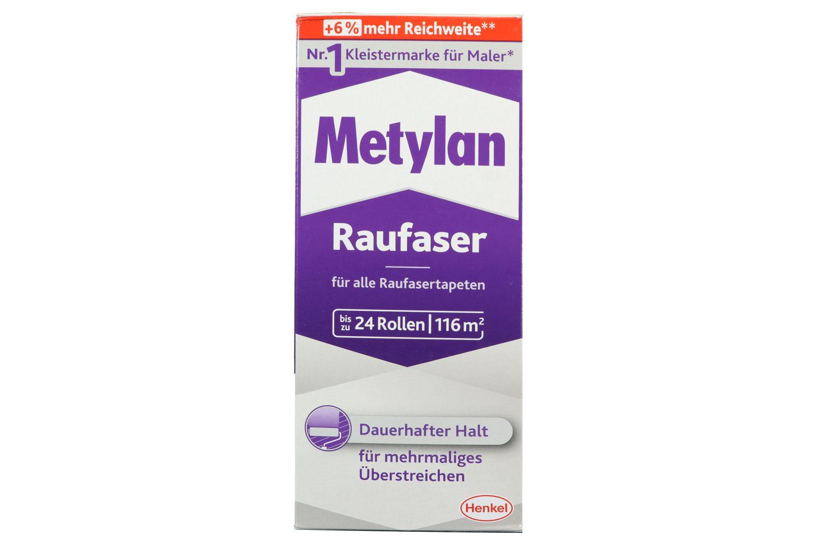 Metylan Raufaser, Kleister für Raufaser- und Raufaservliestapeten, 720 g
