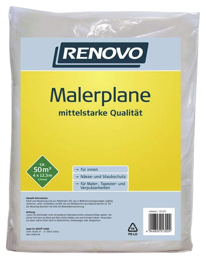 RENOVO Malerplane, 12,5 x 4 m x 30 µm