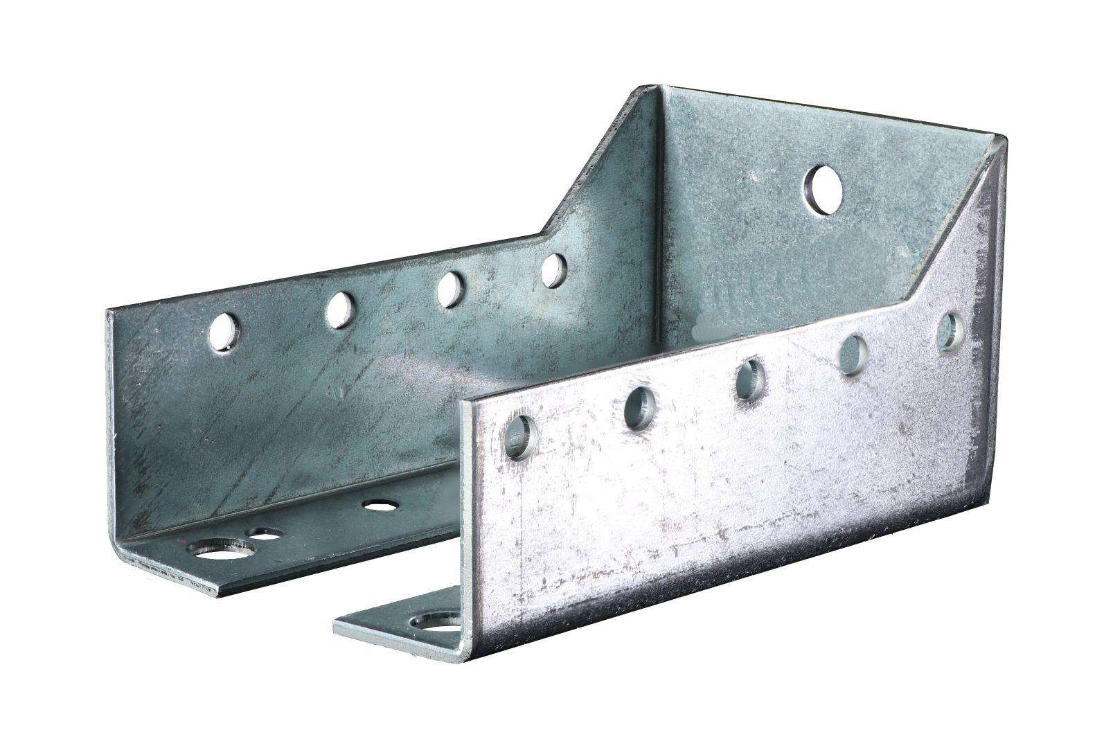 GAH Balkenschuh, innen, sendzimirverzinkt, Typ B, 60 x 100 mm