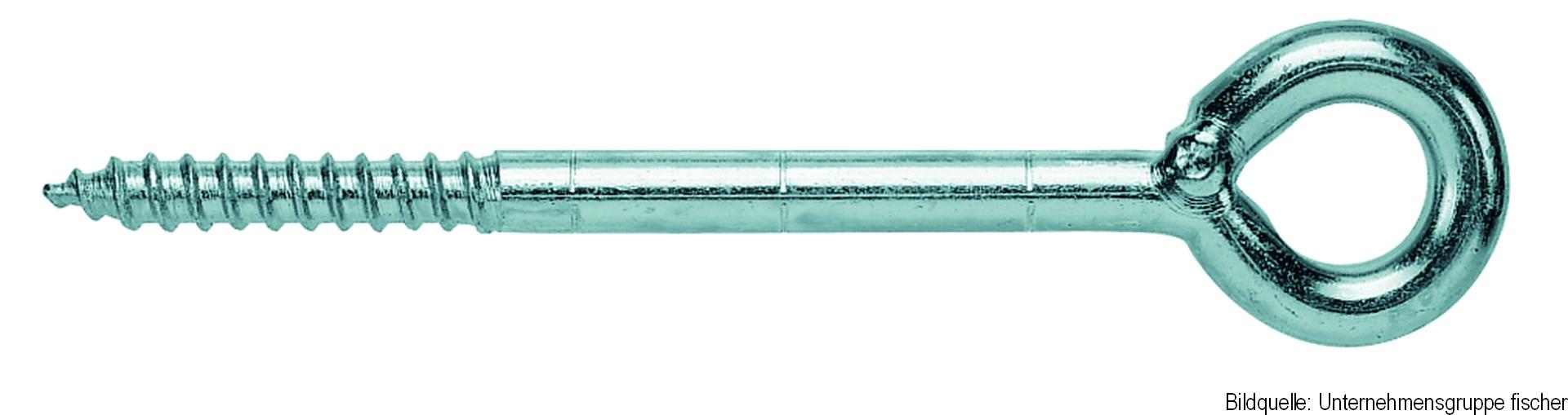 fischer GS Gerüstöse, Gerüstschraube, 12 x 190 mm, 25-er Pack