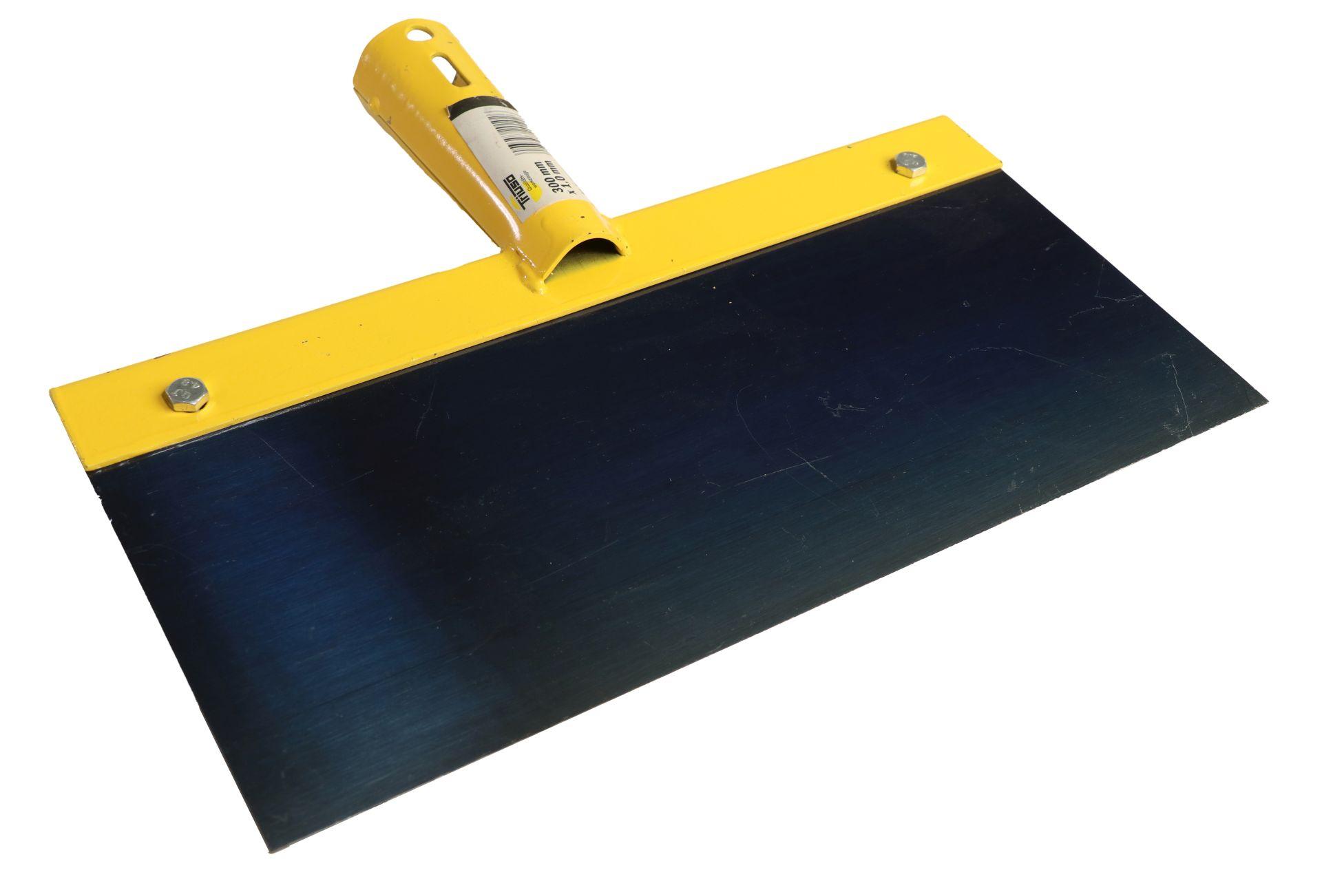 TRIUSO Federstahl-Stoßscharre, 1 x 300 mm, ohne Stiel