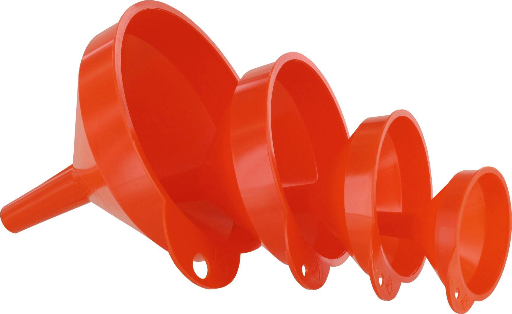 TRIUSO Trichtersatz, 4-teilig, kraftstoffbeständig, lebensmittelleicht, ölbestädig,  Ø 50/70/90/115 mm