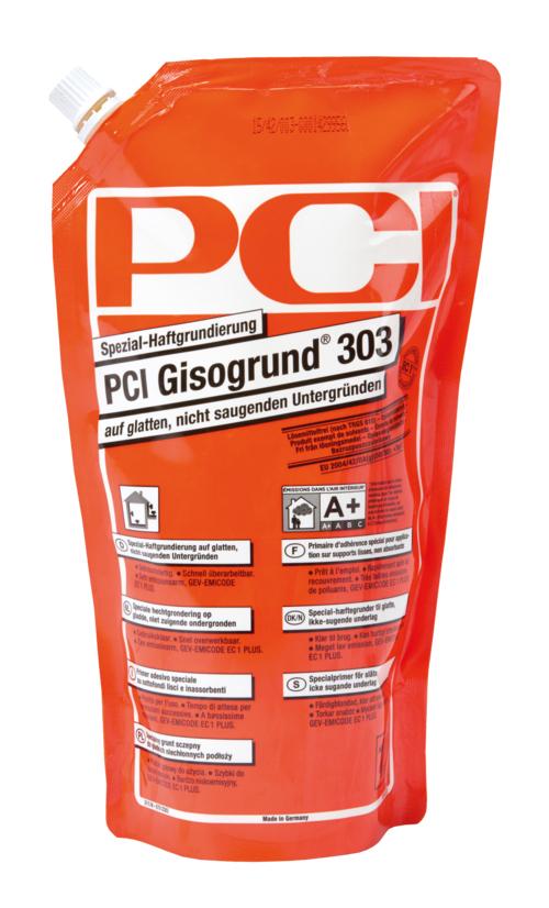 PCI Gisogrund 303, Spezial-Haftgrundierung, auf glatten, nicht saugenden Untergründen, 1 l