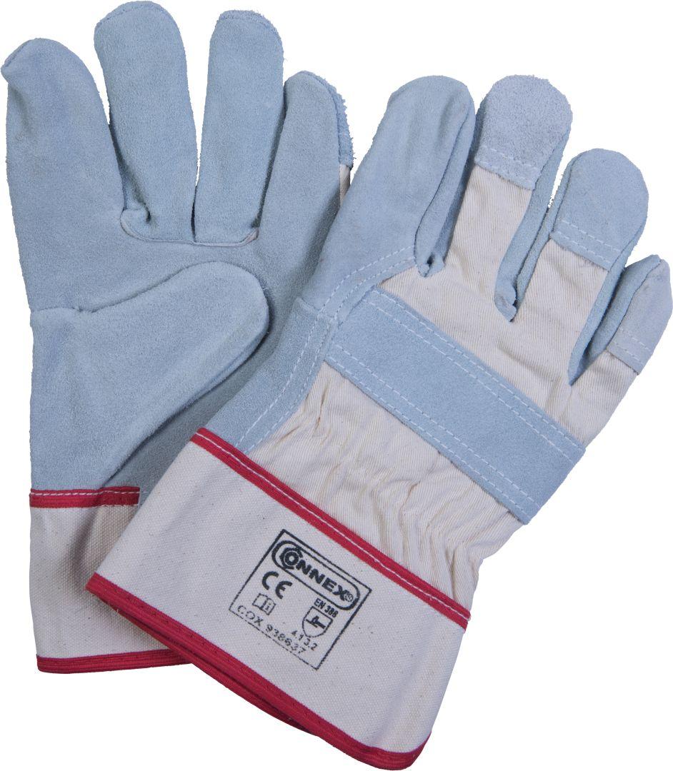 CONNEX Handschuhe aus Kernspaltleder, Größe 10