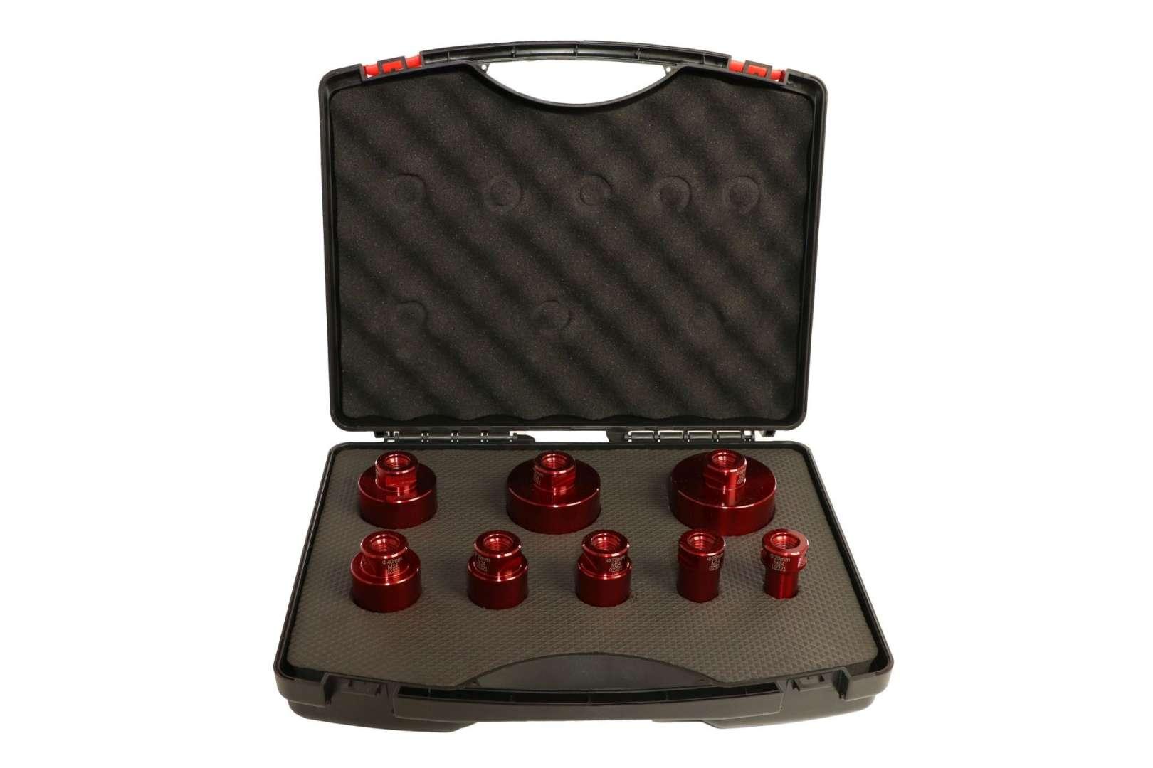 Butler macht's! Diamant-Bohrkronen 8-er Set, Ø 20, 25, 32, 35, 40, 50, 60, 68 mm, Aufnahme M14