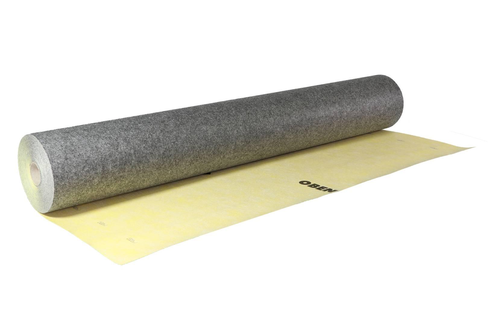 weber.tec 826 Dicht- und Entkopplungsbahn, gelb-schwarz, 1 x 15 m
