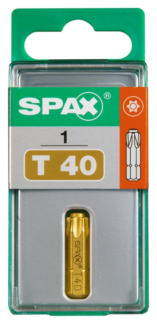 SPAX Bit T-STAR plus T 40, 6,4 x 25 mm