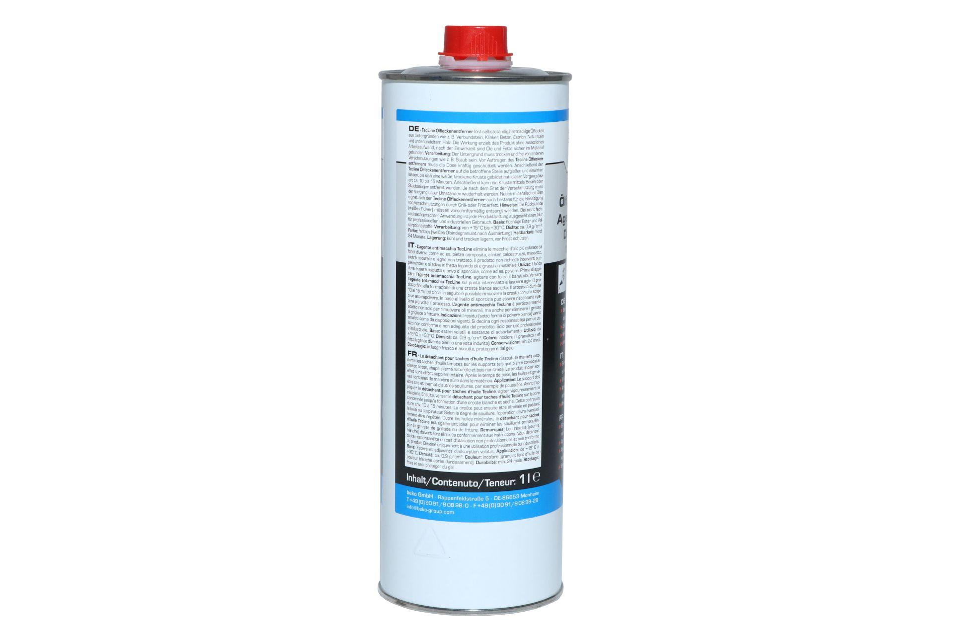 beko TecLine Ölfleckenentferner, 1 l