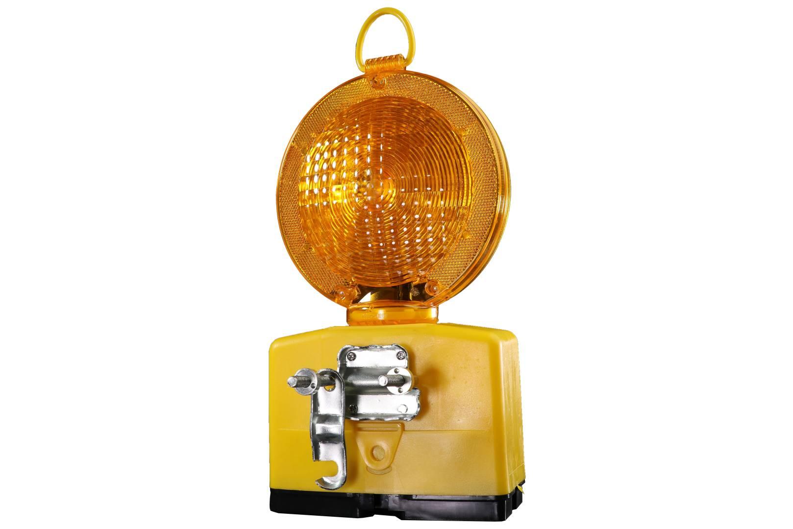 nissen Baustellenleuchte Nitra, LED, gelb, 180 mm