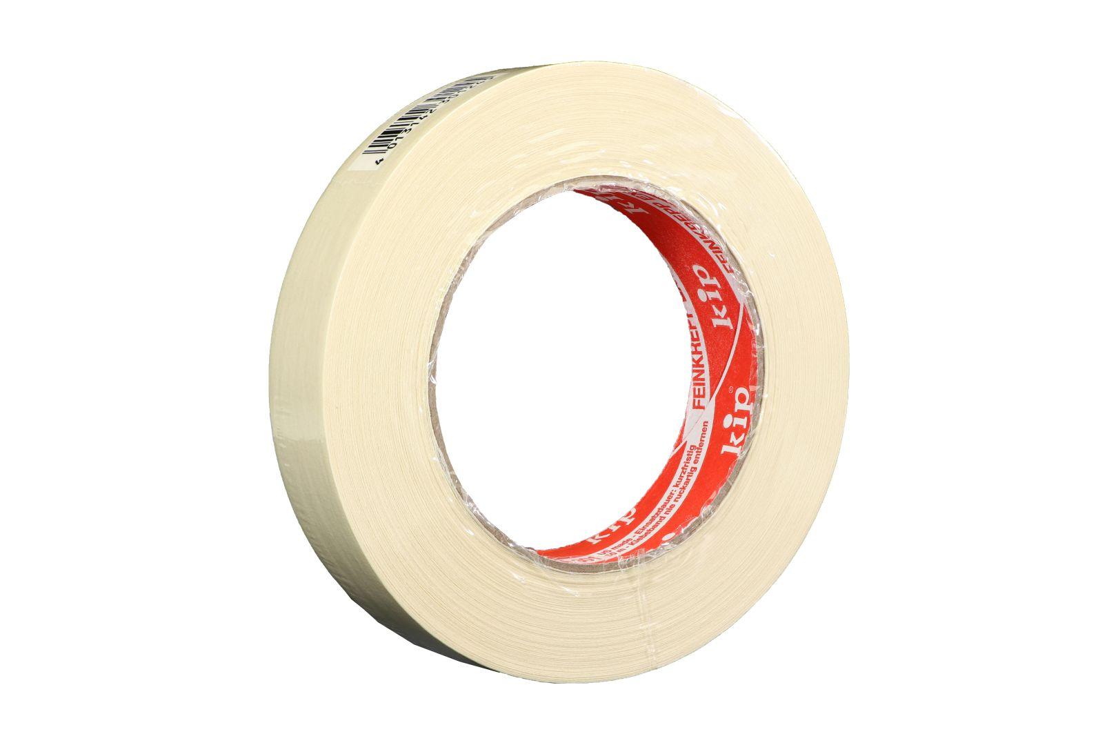 KIP 301-24 Feinkrepp extra, Kreppband, beige, 24 mm x 50 m