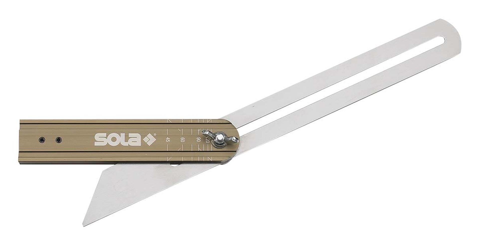 SOLA Schmiege, VSTG 300, mit Gradanzeige, Länge 300 mm