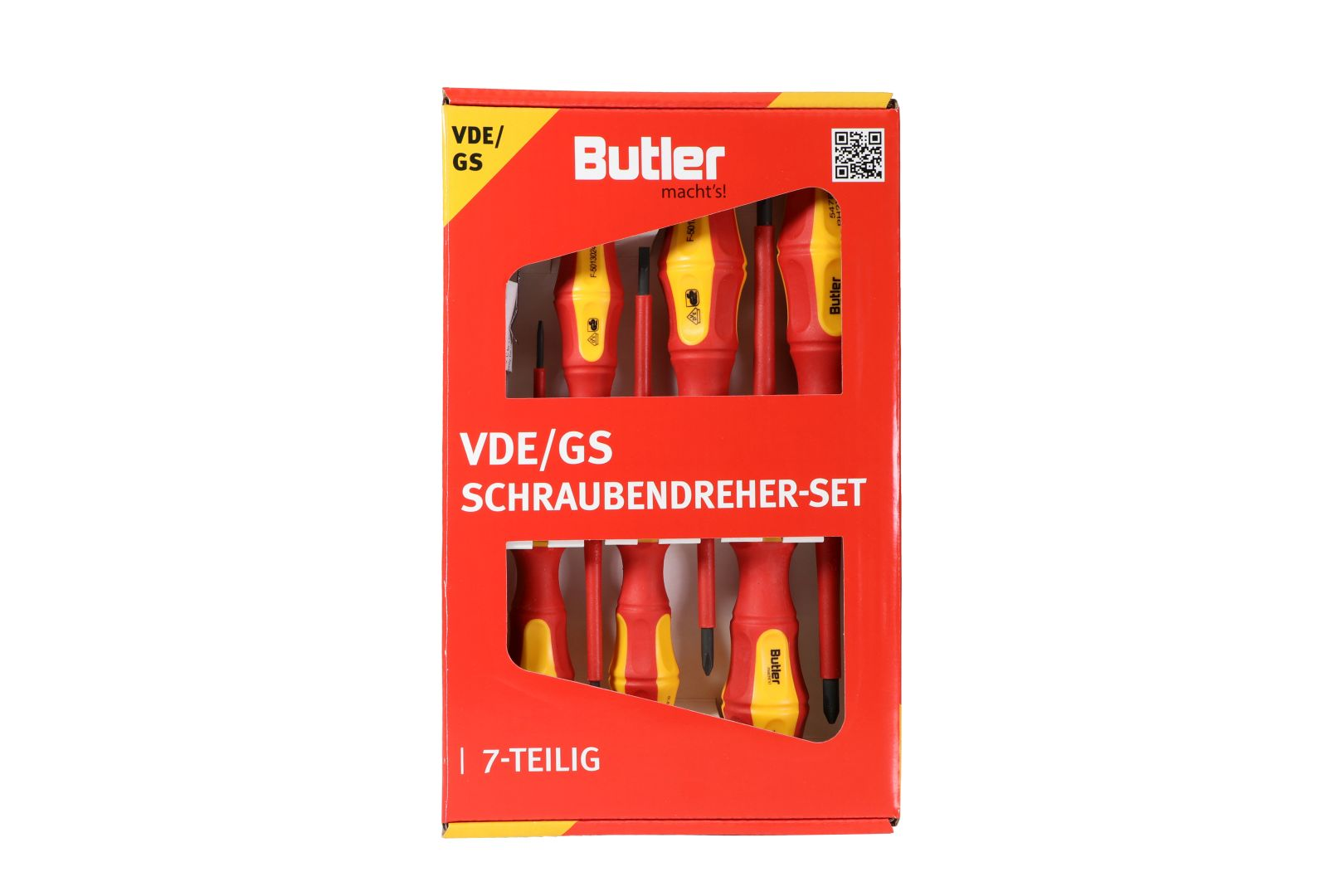 Butler macht's! VDE/GS Schraubendreher-Set, 7-teilig