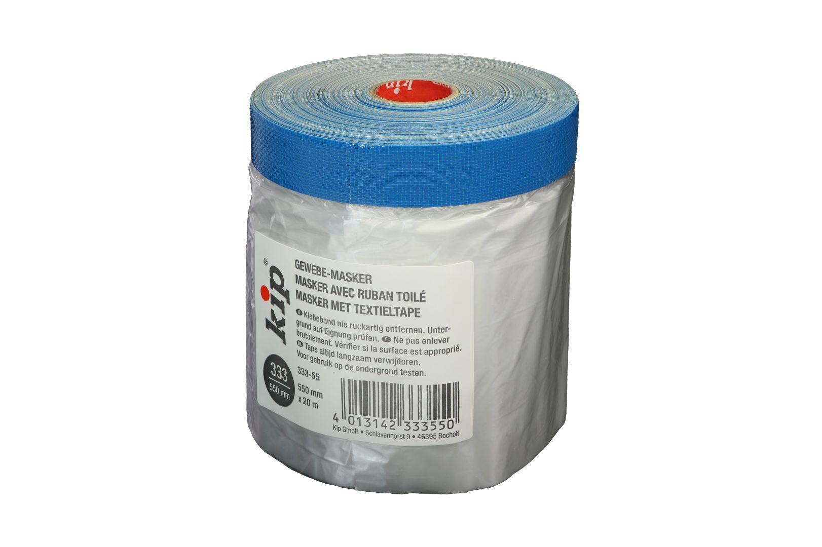 KIP 333-55 Gewebemasker, Premium Gewebeband, blau, 550 mm x 20 m