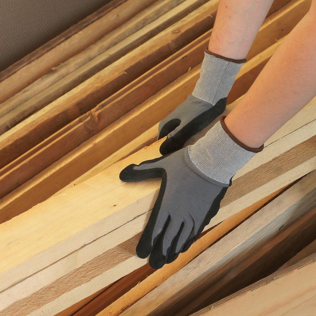 CONNEX Handschuhe Universal, grau, Größe 10