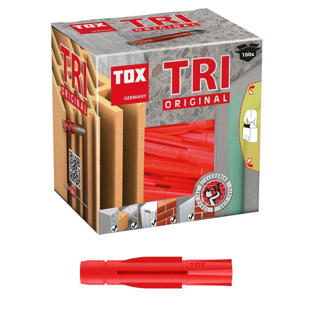 TOX Allzweckdübel TRI, 8/51, 100 Stück, KT