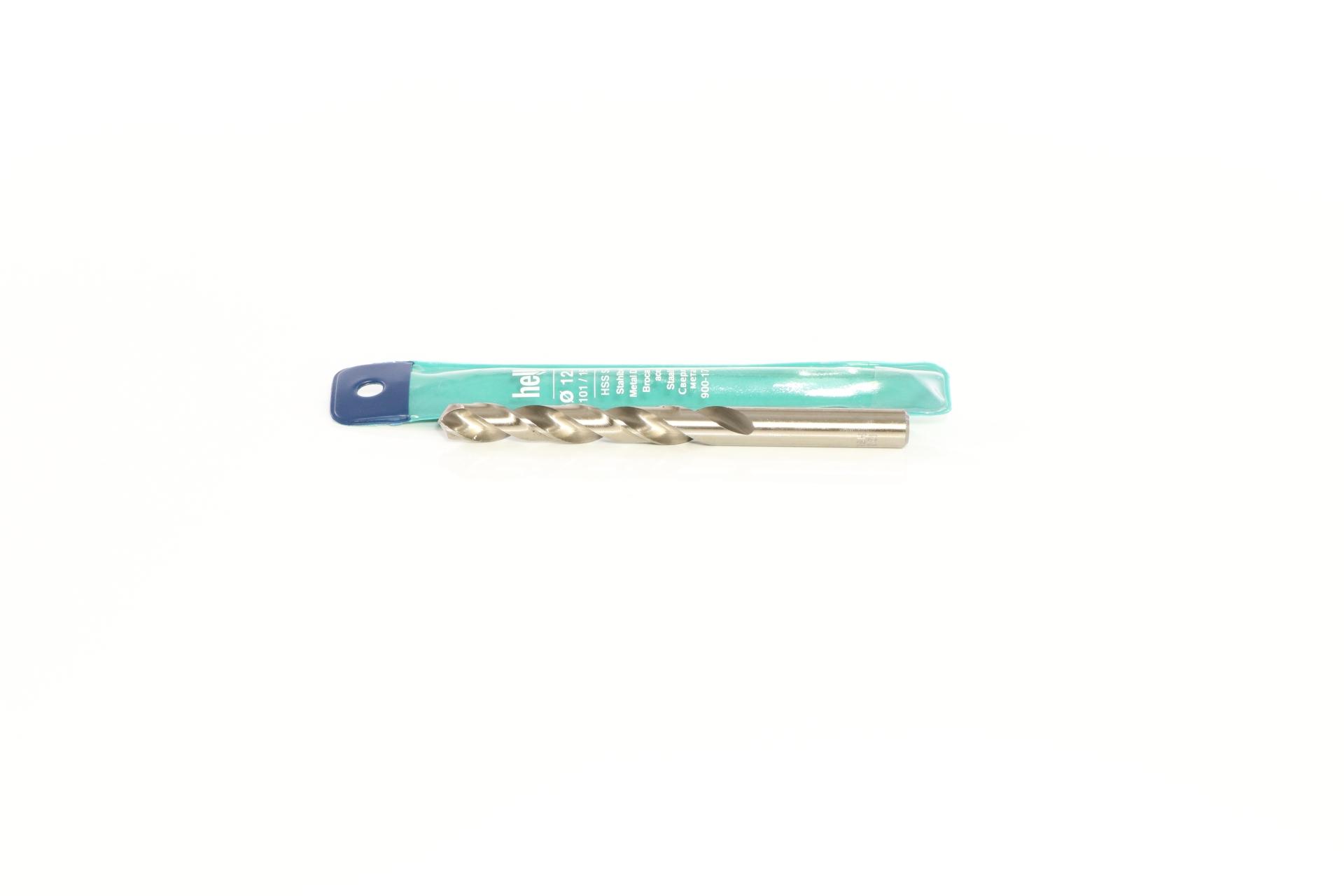 heller Super-Stahlbohrer, Serie 'HSS-G', Ø/A/G: 12,5/101/151 mm
