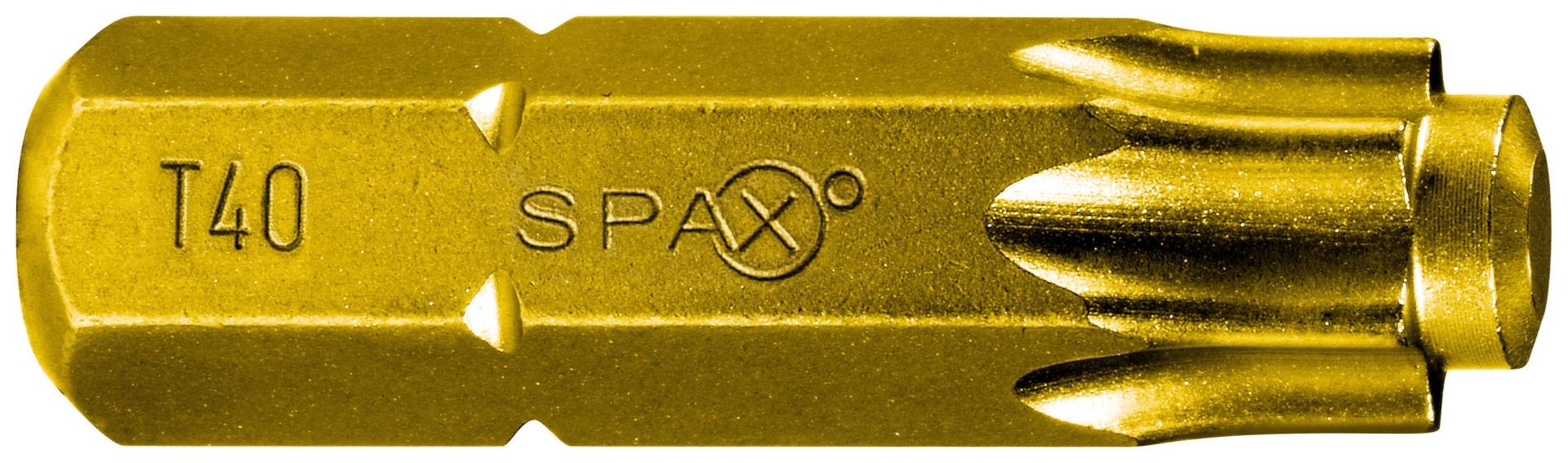 SPAX Bit T-STAR plus T40, 6,4 x 25 mm